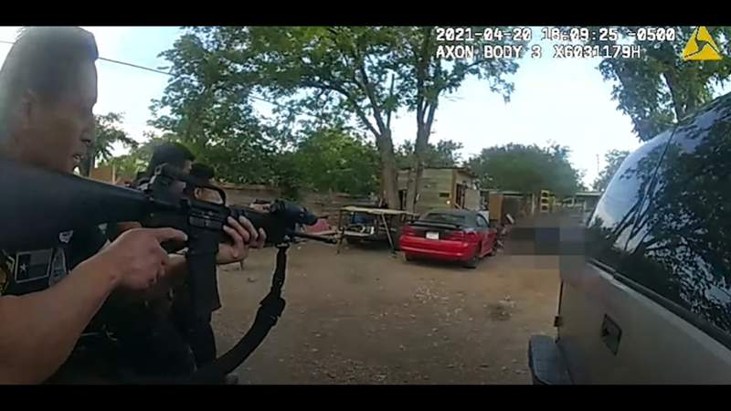 San Antonio police release body-cam video of fatal South Side shooting involving officers