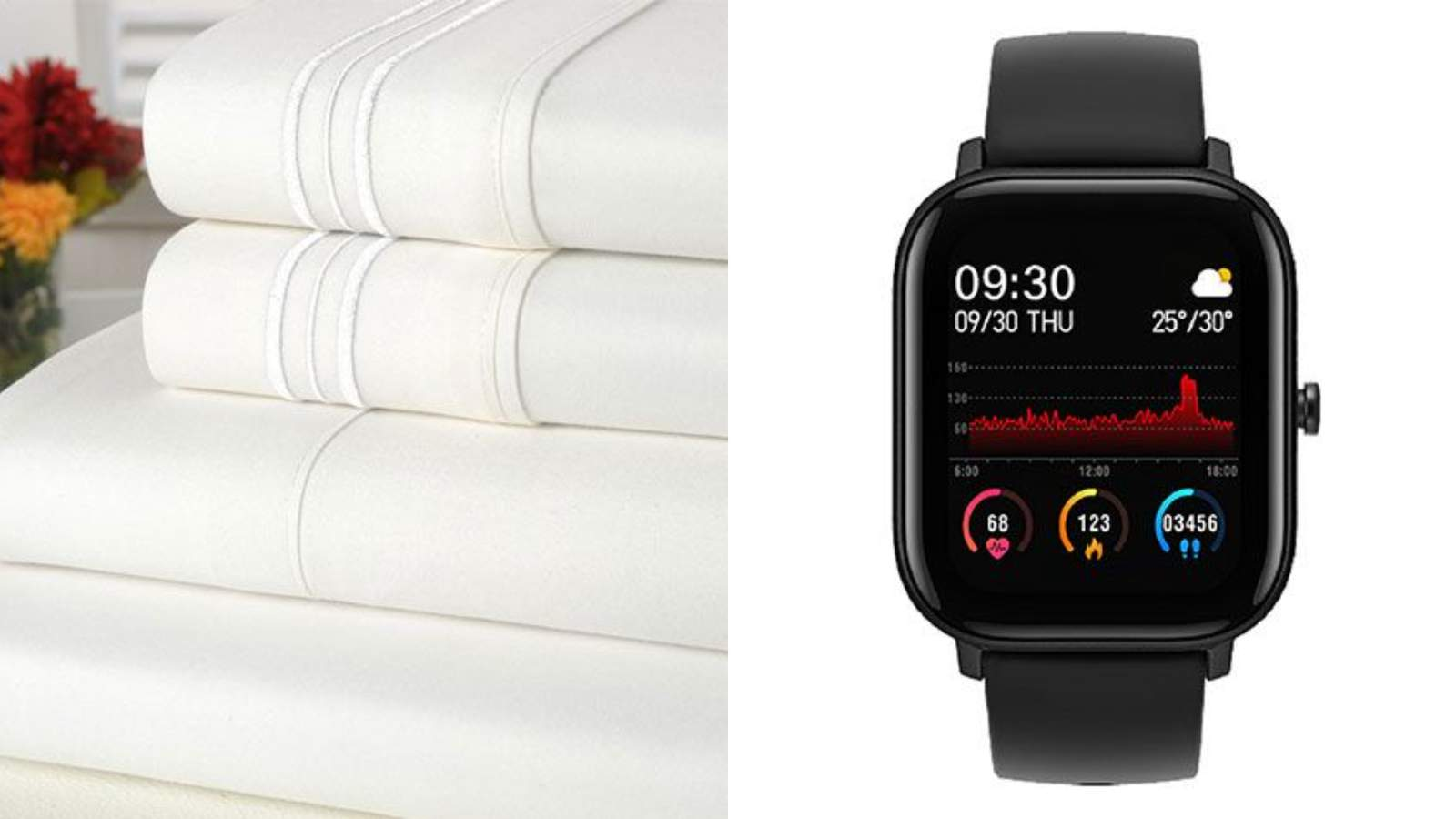 These Luxe Sheet Sets And Trendy Smart Watches Are Perfect Gift Ideas Under 40