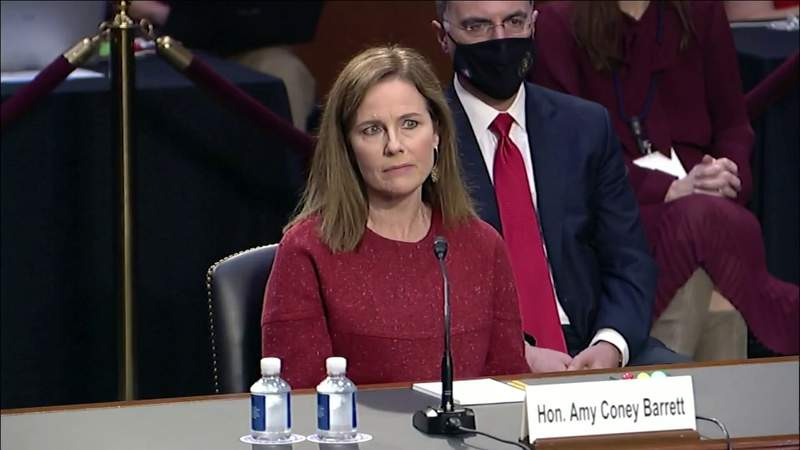 Second day of hearings for Supreme Court Nominee Amy Coney Barrett