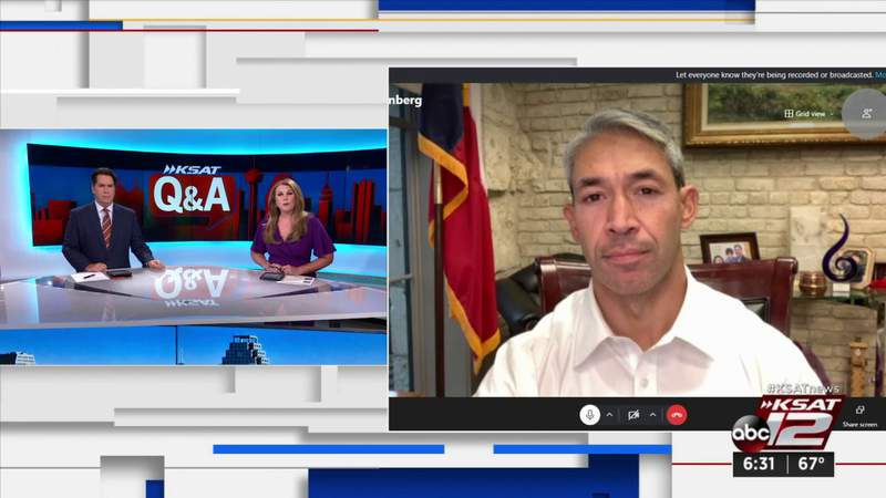 KSAT Q&A: Mayor Ron Nirenberg addresses homelessness, COVID-19 vaccine strategy, police body cam footage policy