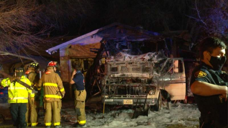 Fallen candle to blame for RV fire on Northeast Side