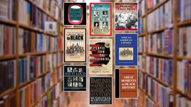 San Antonio Public Library's list of Black history books