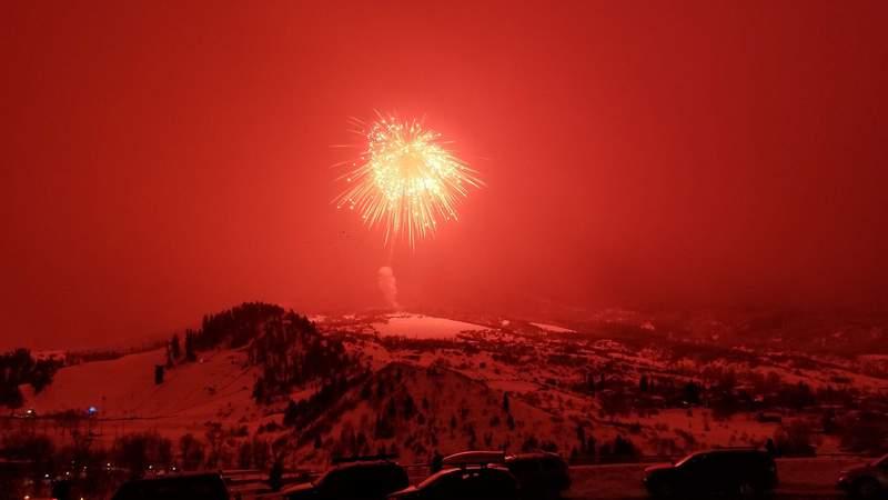 Colorado record firework.