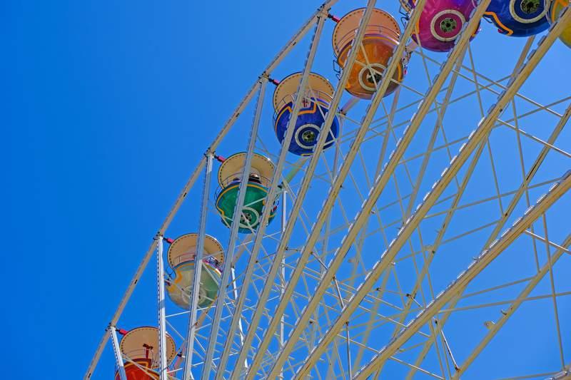 Stock image of carnival.