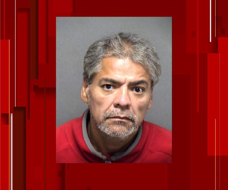 Roland Aleman was arrested Sunday after police say he attacked his aunt with a sheet rock knife.