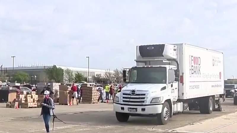 $50,000 donation to San Antonio Food Bank helps keep refrigerated truck road; meg
