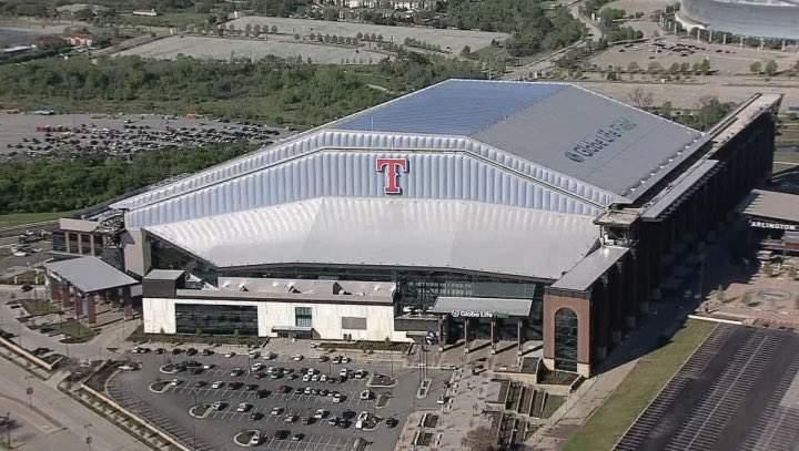 Texas Rangers' new stadium is complete, but Twitter users aren't ...