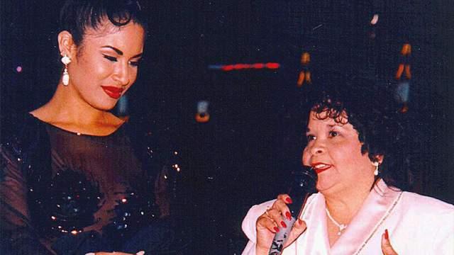 Selena and Yolanda Saldivar