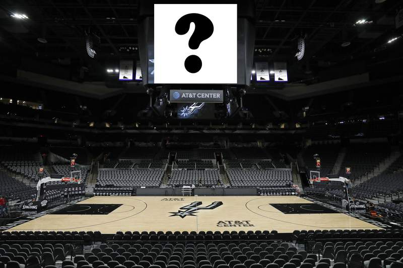 Pictured is the AT&T Center in San Antonio.