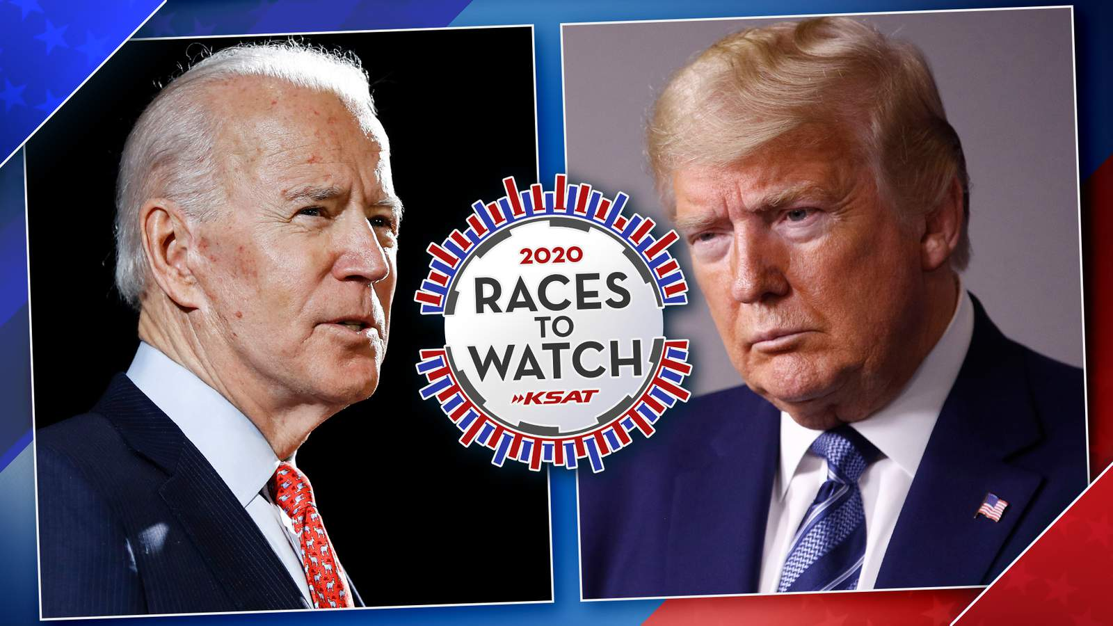 Bexar Facts poll: Joe Biden leads Donald Trump 52%-35% among likely Bexar County voters