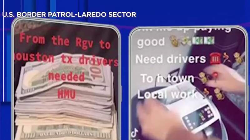 Human smugglers recruiting teenage drivers on social media, Border Patrol officials say