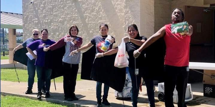 The Comal Independent School District celebrated the annual School Lunch Hero Day on Friday.