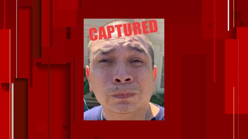 Moises Calderon of San Antonio was arrested just one day after he was added to the Texas 10 Most Wanted Fugitives List.