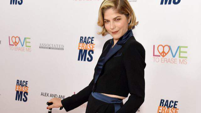 Selma Blair attends the 26th Annual Race to Erase MS Gala. (Photo by Gregg DeGuire/Getty Images)