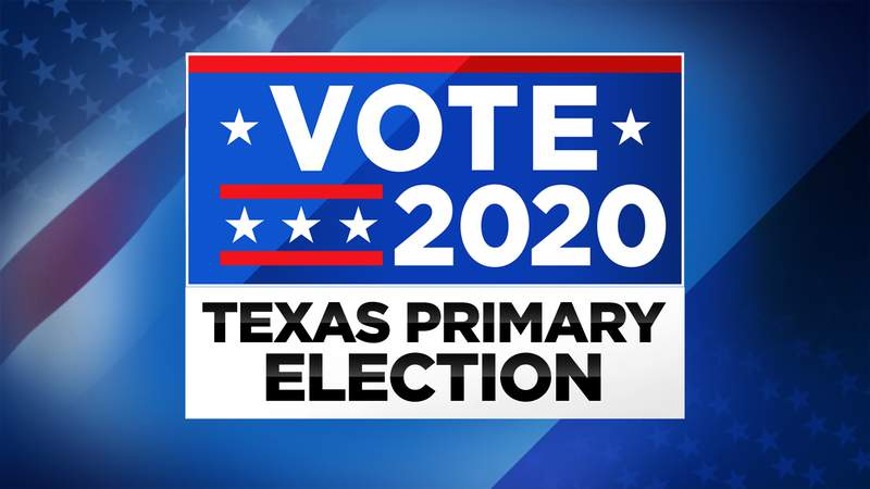 The Texas Primary Election will be held March 3, 2020.